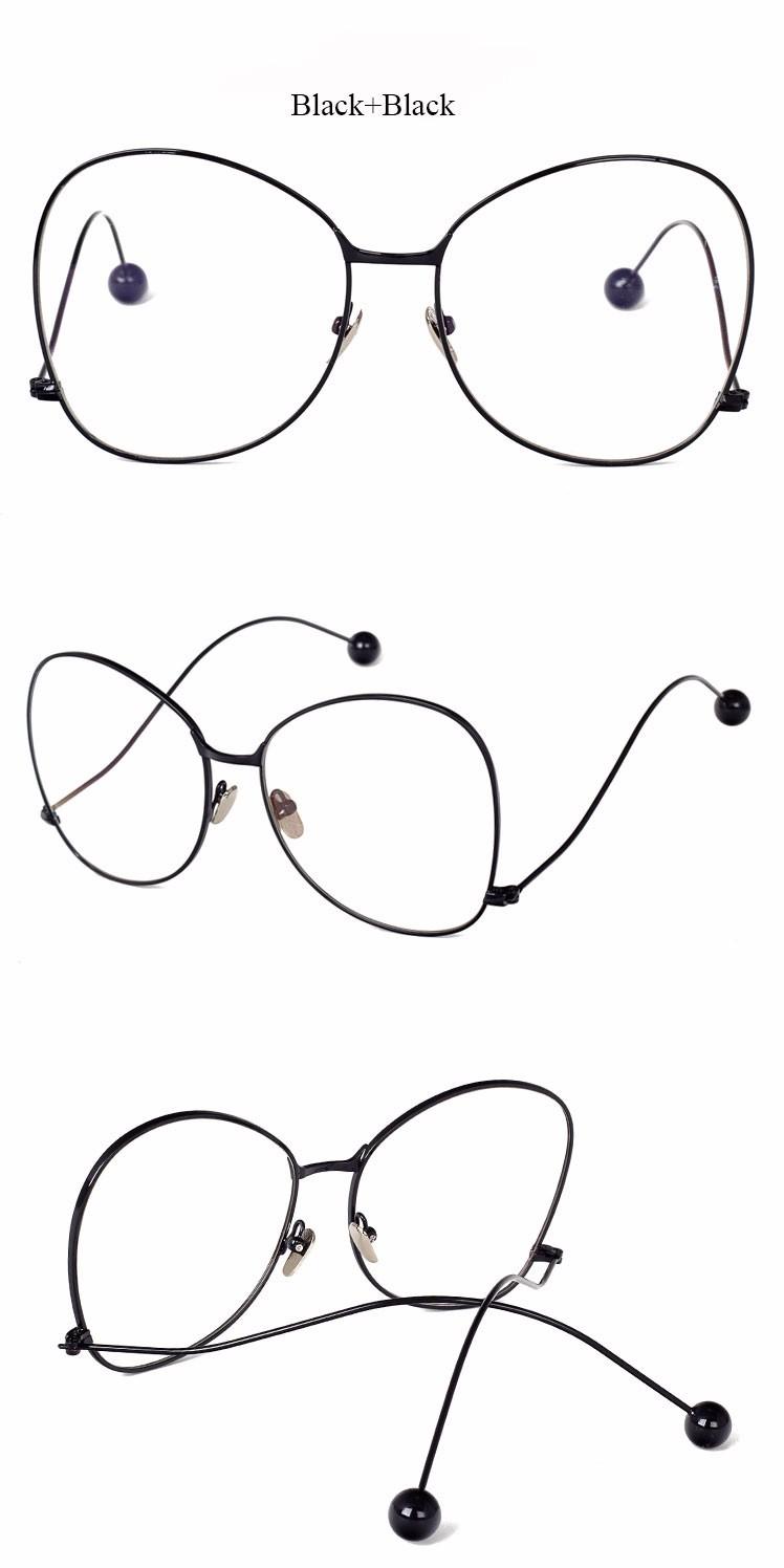 Click here 2017 newest fashion classical alloy round eyewear frame men women optical eyeglasses spectacle frame oculos de grau