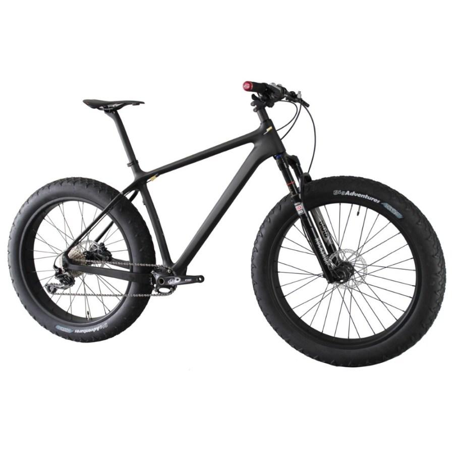 HTB1VqCFKXXXXXXaXpXXq6xXFXXXw - ICAN carbon 4.8 inch max fat tire front/single suspension 10 speed snow bicycle 16/18/20inch available Complete Fatty Bike