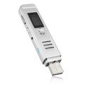 8GB LCD Digital Audio Sound Voice Recorder Dictaphone Rechargeable MP3 Player Voice Recorder