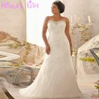 Full Figure Wedding Dresses - In Jax
