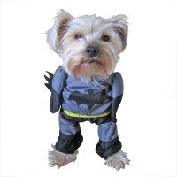 Hot Sale New Cute Pet Cat Dog Batman Costume Suit Puppy