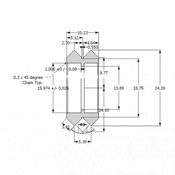Aliexpress.com : Buy Delrin dual v wheel kits precise CNC