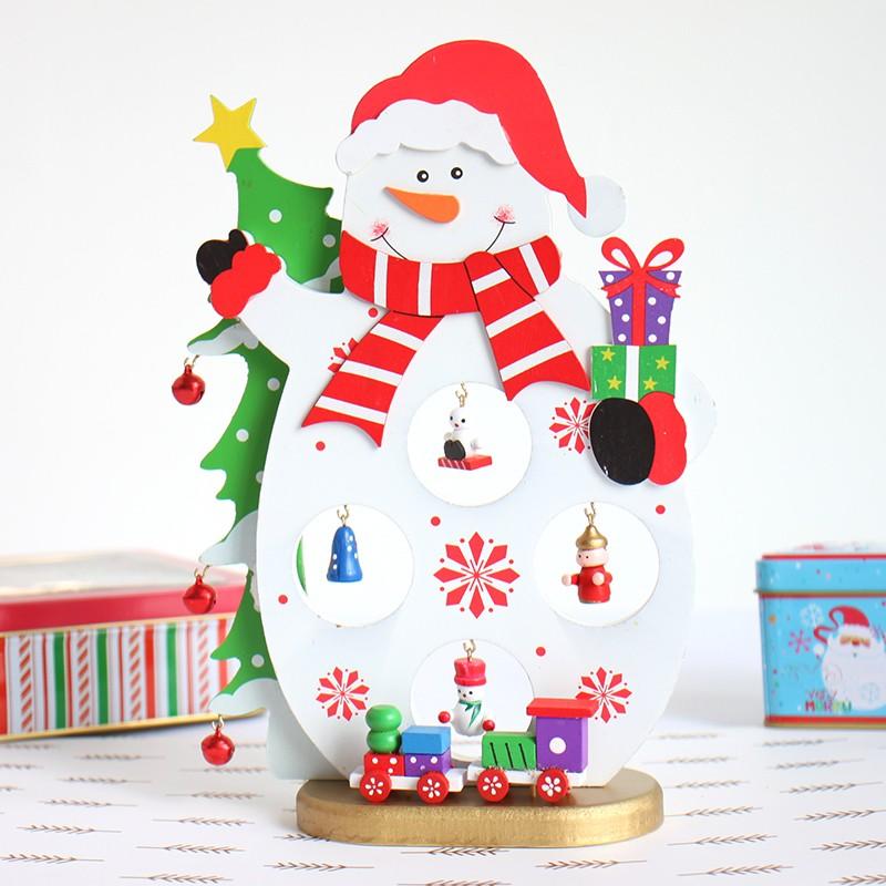 ộ_ộ ༽Nueva llegada regalo de Navidad 1 unid mini Decoración de mesa ...
