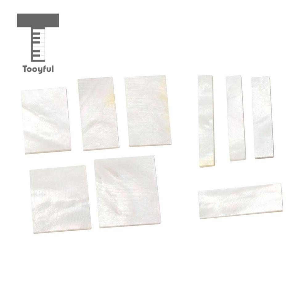medium resolution of tooyful diy inlays material white shell block for guitar fingerboard fretboard neck