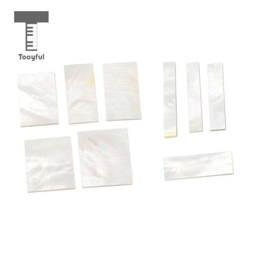 small resolution of tooyful diy inlays material white shell block for guitar fingerboard fretboard neck