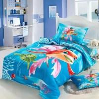 Ocean Kids girls cartoon bedding comforter set twin size ...