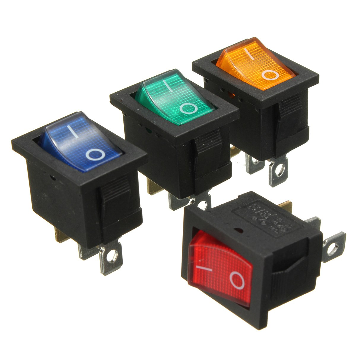 illuminated marine rocker switches ford 2000 tractor parts diagram 2015 new universal 3 pins on off switch w led