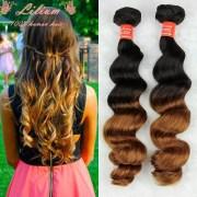 4pcs ombre hair extensions brazilian