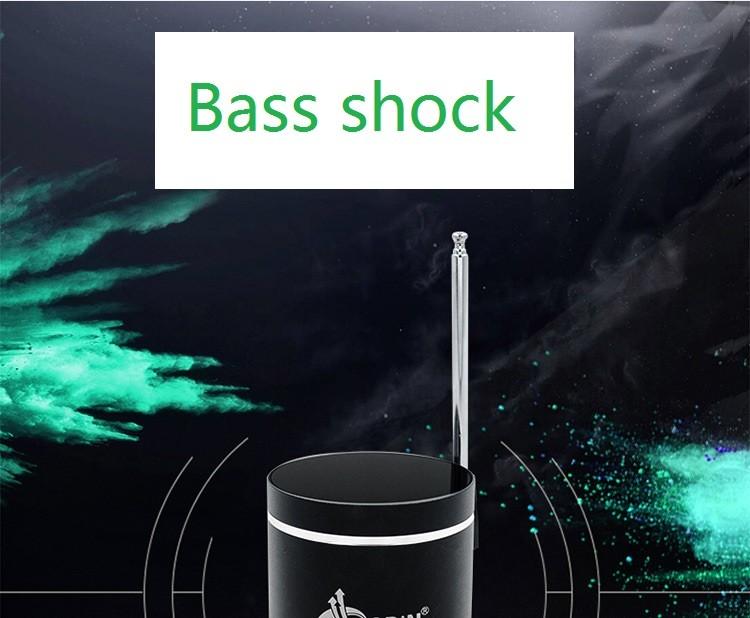 ჱАдин 15 Вт вибрации Колонки Bluetooth мини Колонки FM TF ...