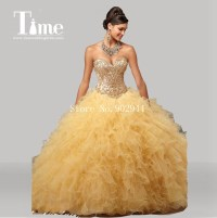 Gold Quinceanera Dresses Reviews - Online Shopping Gold ...