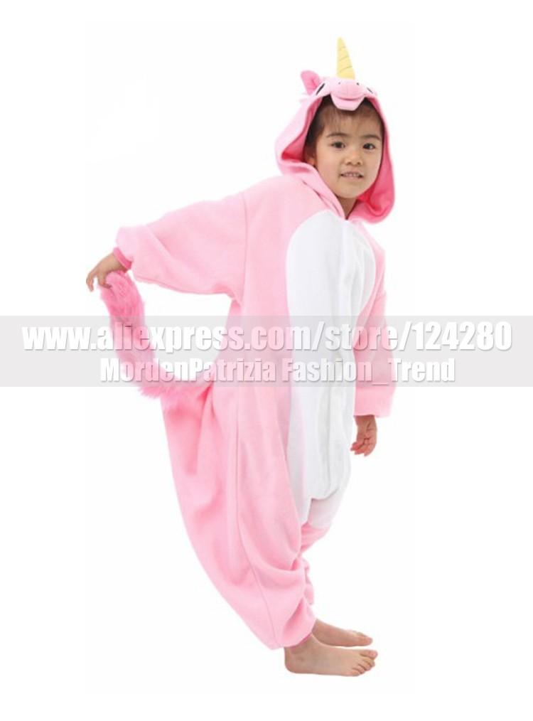 Нико Единорог малыш Обувь для девочек Обувь для мальчиков Розовый Синий  Единорог Комбинезоны костюмы Пижама зима флис животного пижамы веч. a084b339908aa