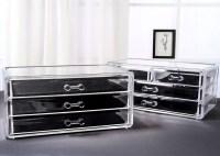 Cosmetics storage cabinet storage box muji high quality ...