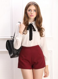 Women'S Blouses With Ties - Long Blouse With Pants