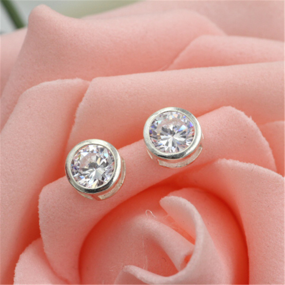 ᑎ‰2017 free shipping jewelry earring 925 sterling silver Restoring ...