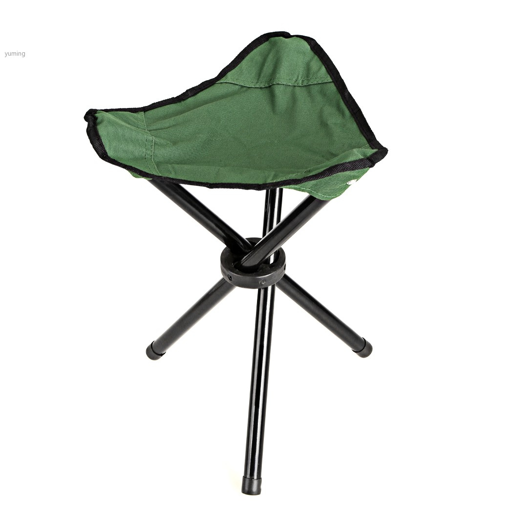 fishing chair small cane seat chairs 30 x 30cm 3 leg stool beach canvas casual outdoor