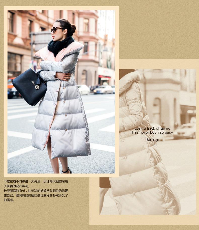 Click here!! Haute Qualité Vers Le Bas Parka 2017 Nouveau Mode Hiver Blanc  Duvet de Canard Veste Épaississement Chaud Longue Veste Parkas Pour Femmes  Hiver 558b9fa0d21