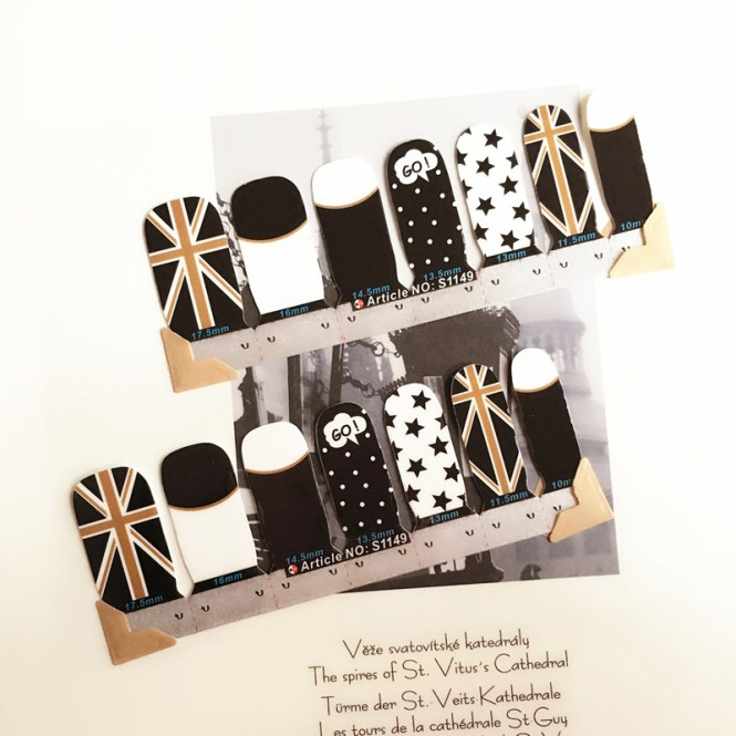 30 Style Nail Wraps Stickers Fashion Uk Designs Waterproof Arts Polish Gel Foils
