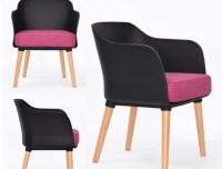 Fashion Color sofa Wooden &Plastic Sofa chair,white,blue ...
