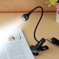Table Desk Lamp USB Flexible Reading LED Light Clip on ...