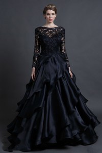 Popular Black Gothic Wedding Dresses