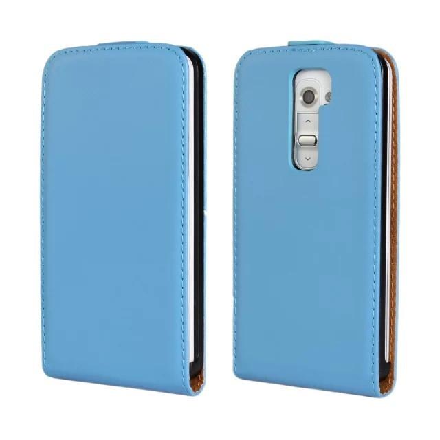 ba4a8ca4edf Alta qualidade genuine leather flip case capa para lg g2 com fecho  magnético caso de telefone 11 cores