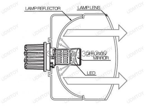 For Jeep Grand Cherokee 2011-2012 with HID headlights