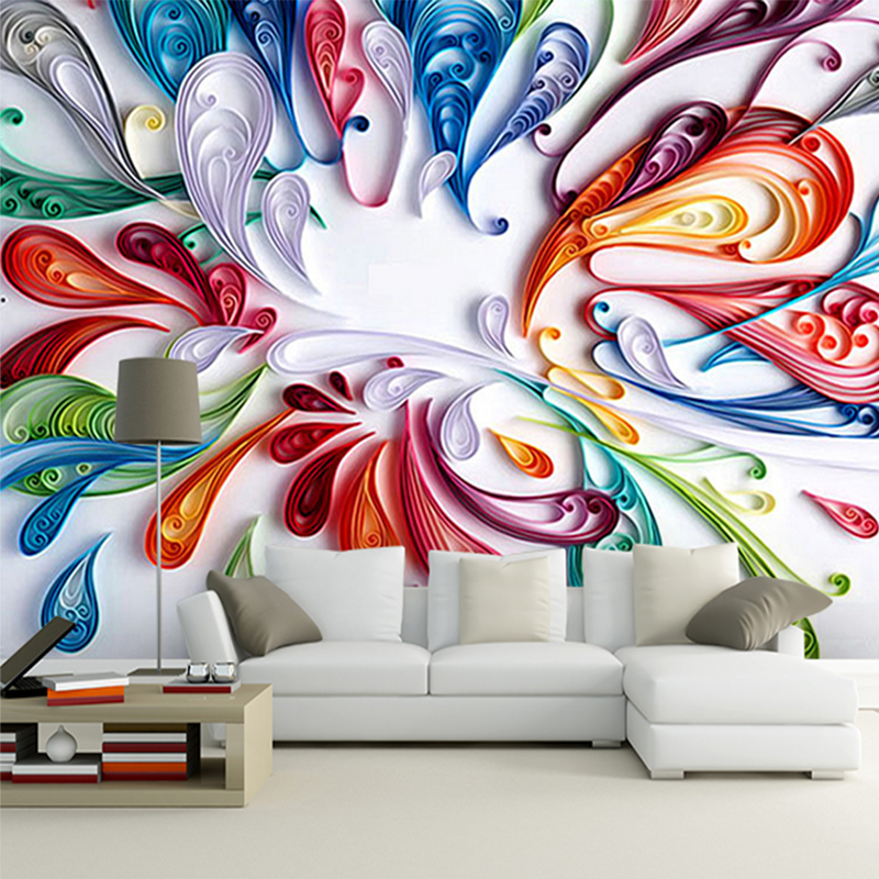 Custom 3D Mural Wallpaper For Wall Modern Art Creative
