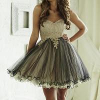 Popular Black and White Masquerade Dress-Buy Cheap Black ...