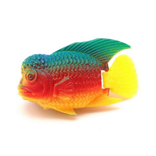 1pcs Fish Tank Decor Plastic Swimming Artificial