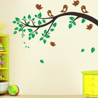 Birds swallow on the Tree Removable Wall Decals Stickers ...