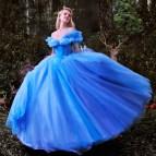 Princess Cinderella Blue Dress Costume