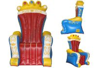 2015 Custom inflatable king throne/queen chair for sale on ...