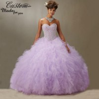 Cheap Ball Gowns Sweet 16 Dresses Lavender Masquerade ...