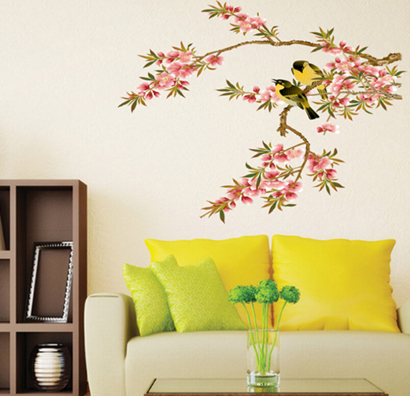Colorful Birds Wall Decor Crest - All About Wallart - adelgazare.info