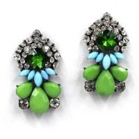 C3202 New 2015 stud earrings Trend fashion korean shourouk ...