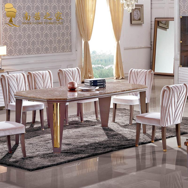 Italian design high quality home furniture nature marble