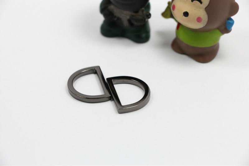 """4/"""" lâche anneau Type Chrome satiné cabine crochet avec gardien"""