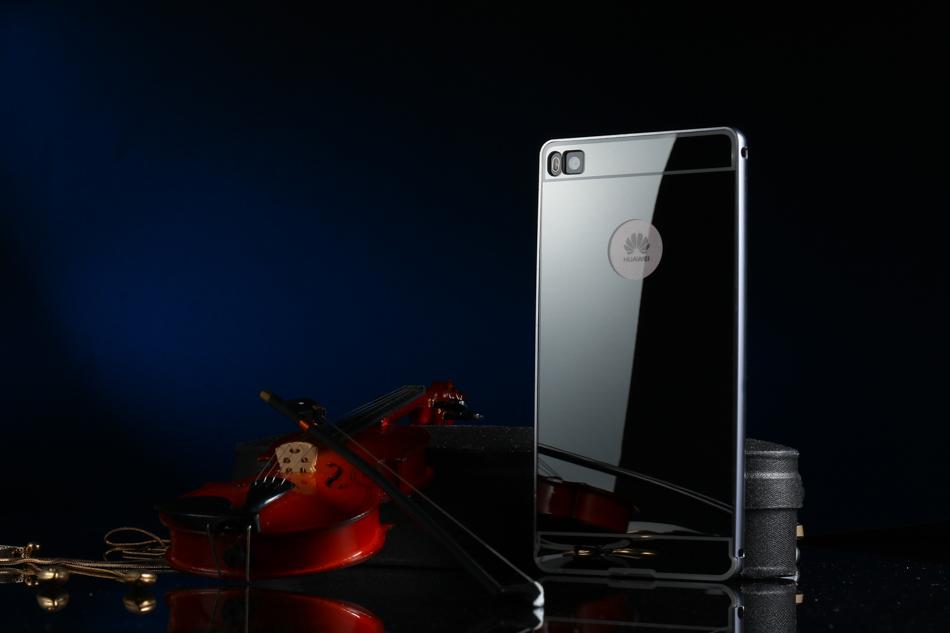 ∞Akabeila caja de teléfono de metal para Huawei P8 móvil Fundas ...