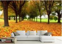 Buy Custom photo wallpaper, forest landscape murals living ...