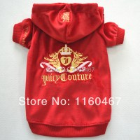 Fashion Red Dog Clothes Pet Clothing and Accessories for ...