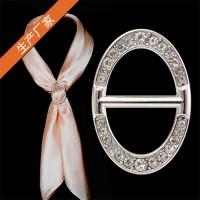Women Custom Shawl Ring Clip Scarves Fastener Gold Silver ...