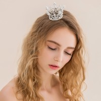 Small Crown bridal jewelry classic bridal hair accessories ...