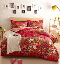 red floral bedding - 28 images - floral housse de couette ...