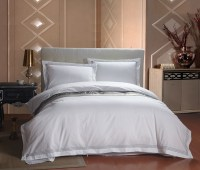 New 4PCS European Five Star Hotel Bedding Sets Luxury