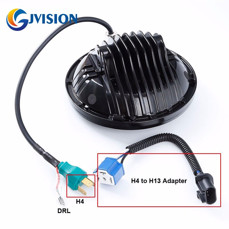 ᐂAprobación dot 2 unids redondo 7 pulgadas LED faro 75 W LED 12 V ...