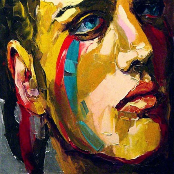 Popular Abstract Face Cheap