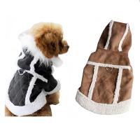Clothing for Dogs Suede Warm Winter Hoodie Small Dog ...