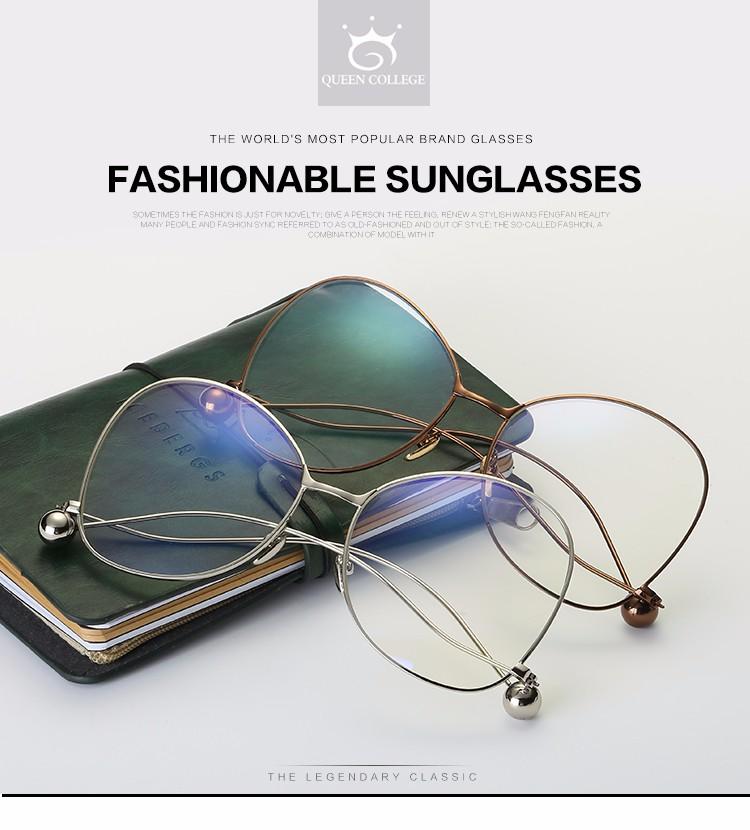 f1ab78bde021c ROZA Quadro Grife Óculos De Sol Das Mulheres Óculos de Leitura Da Lente do  Espelho de Cobre de Grandes Dimensões Óculos de Sol UV400 QC0486