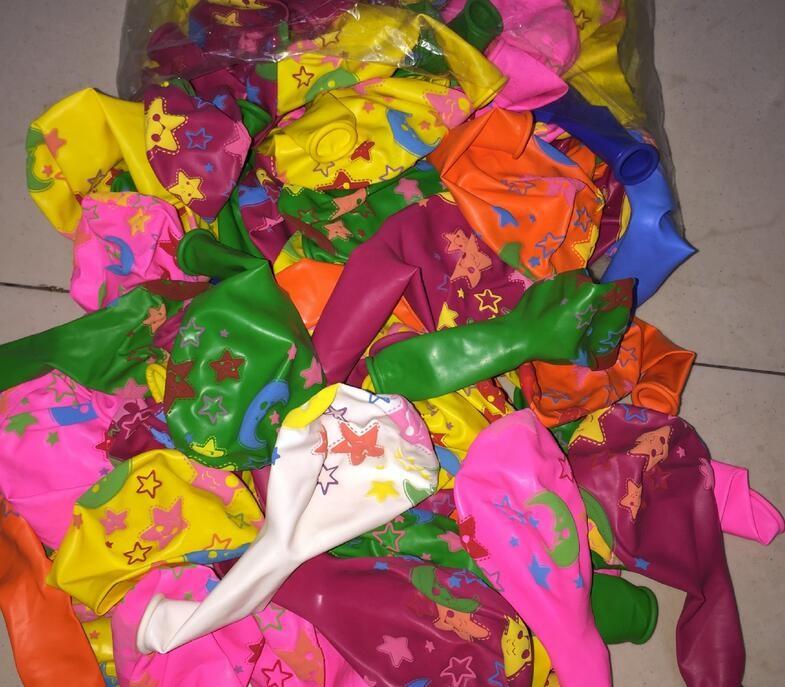 "12/"" Imprimé Light /& Rose Chaud Assortis Latex Ballons Pack De 12 Princess"