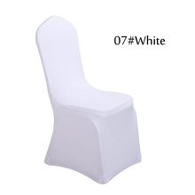 cheap white chair covers two person folding lawn buy spandex and get free shipping on aliexpress com sinssowl 100 pcs wedding polyester banquet cover